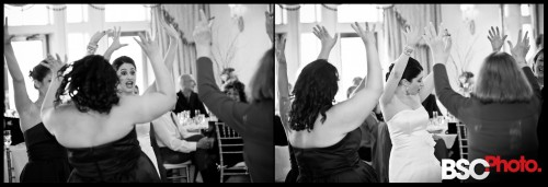 Connecticut wedding photographer capturesfun and raw emotion at the reception
