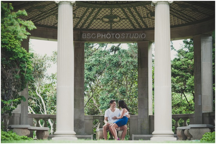 Harkness Memorial park engagement phtography