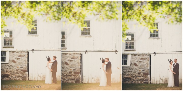 Vintage CT farm and barn wedding formal photography