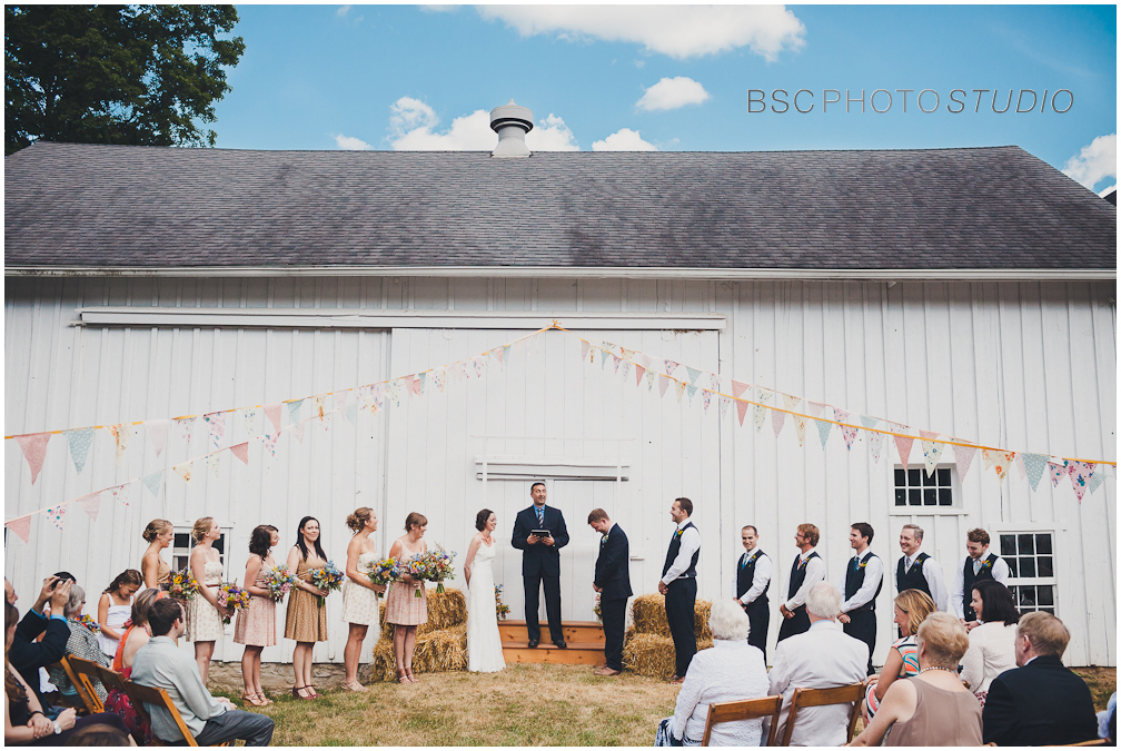 Ny farm wedding