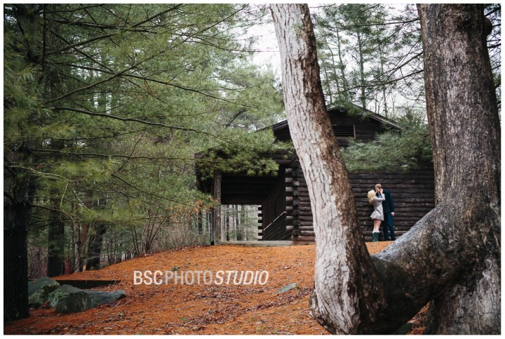 Rustic CT photojournalism engagement