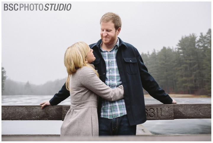 Modern CT engagement photography in Middlesex County