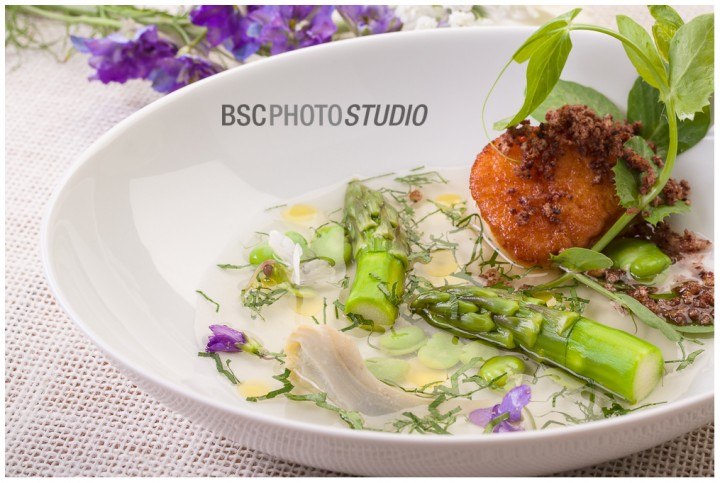 Chef Tyler Anderson food photography