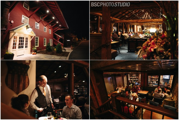 Restaurant interiors and exterior Connecticut photographer