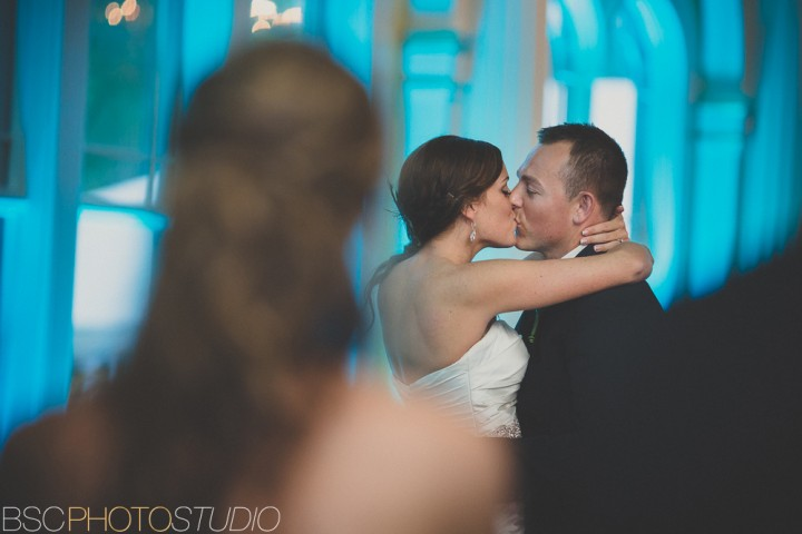 amazing wedding photography connecticut bride and groom first dance photo