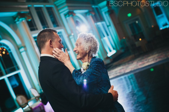 sweet grandmother dance Connecticut wedding photography and photojournalism