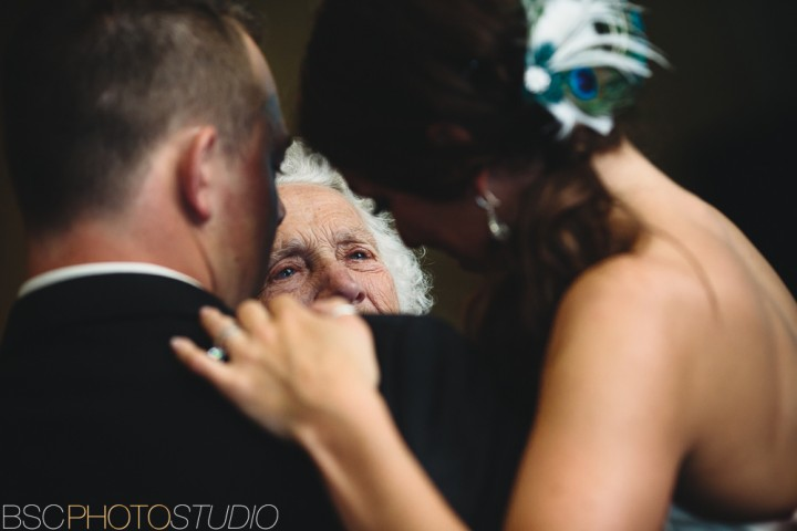 Connecticut wedding grandmother crying