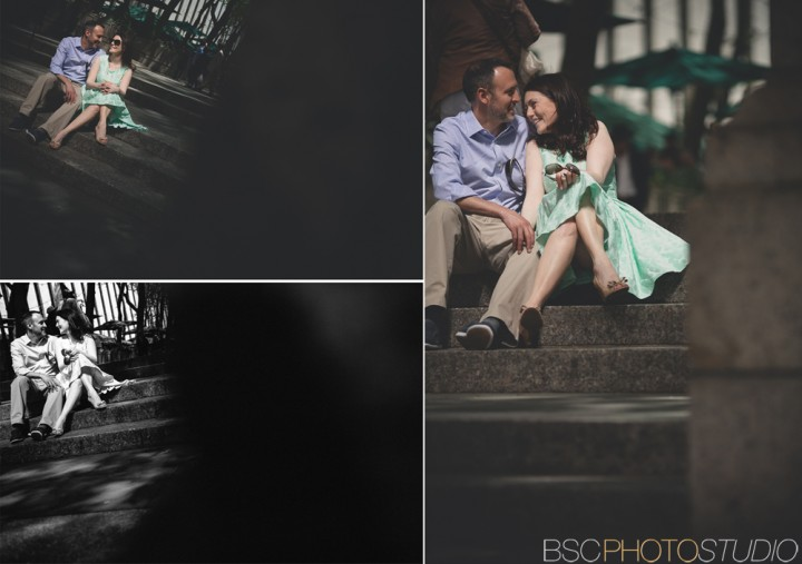 Bryant Park creative NYC engagement