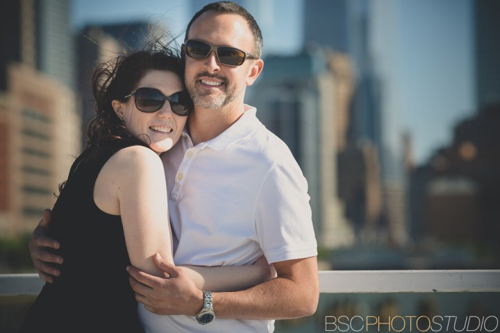 New York City West Side creative engagement photography