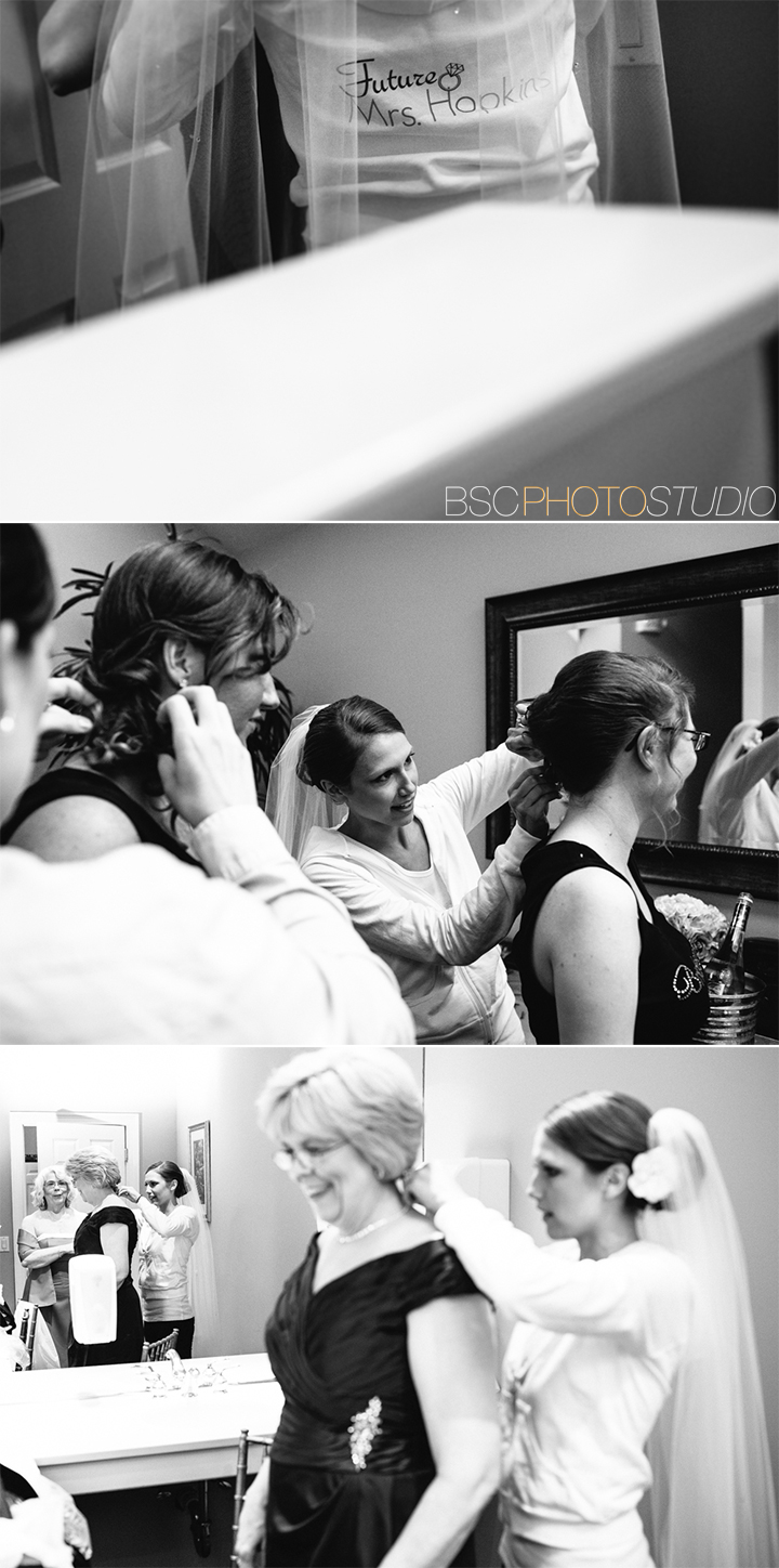 Brookfield Connecticut documentary wedding photographer Candlewood Inn bridal suite