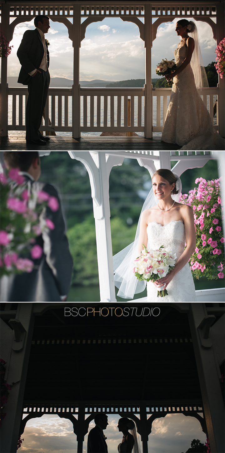 Modern beautiful CT wedding pictures Candlewood Inn bride and groom