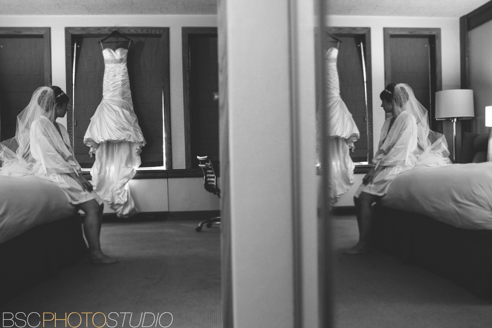 Creative Unique Bride Getting Ready Connecticut Wedding Photojournalism