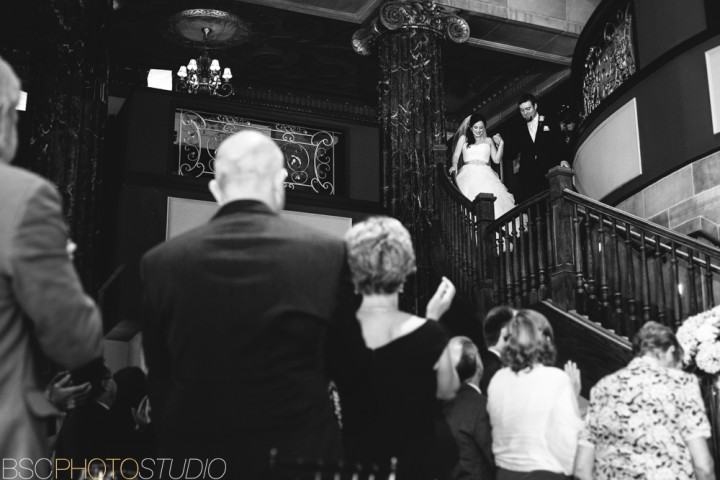 Creative unique wedding reception at The Society Room of Hartford Connecticut