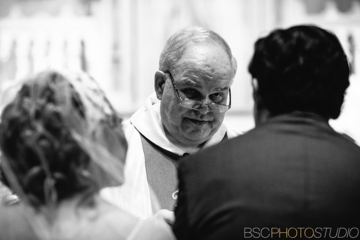 unique CT wedding ceremony photography church