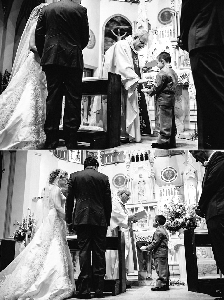 unique CT wedding church ceremony photojournalism