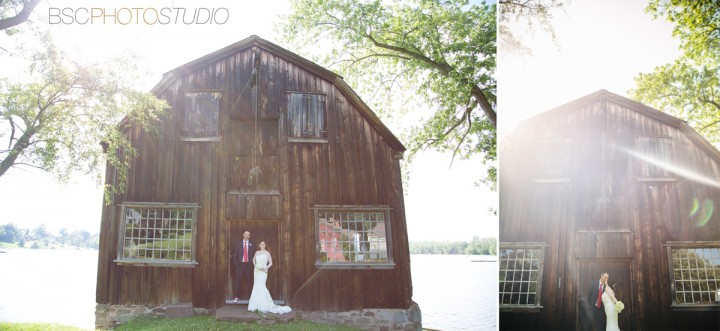 Off beat modern barn wedding photography CT