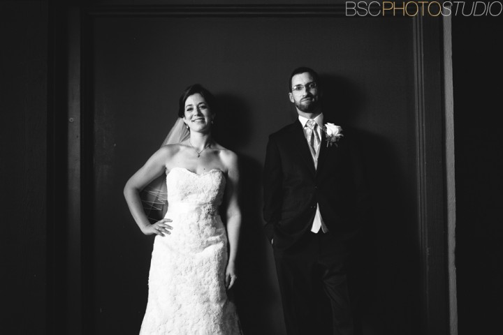 dramatic creative unique bride and groom portraits Connecticut wedding photographer