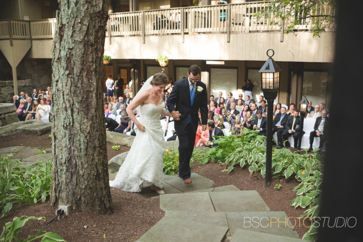 Beautiful unique wedding ceremony at The Heritage Hotel Southbury CT documentary photographer