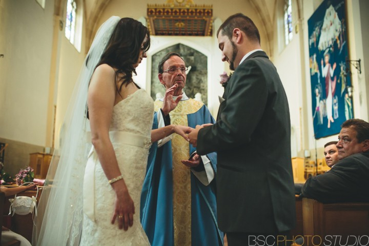 West Hartford church ceremony Connecticut modern wedding documentary photojournalism photography