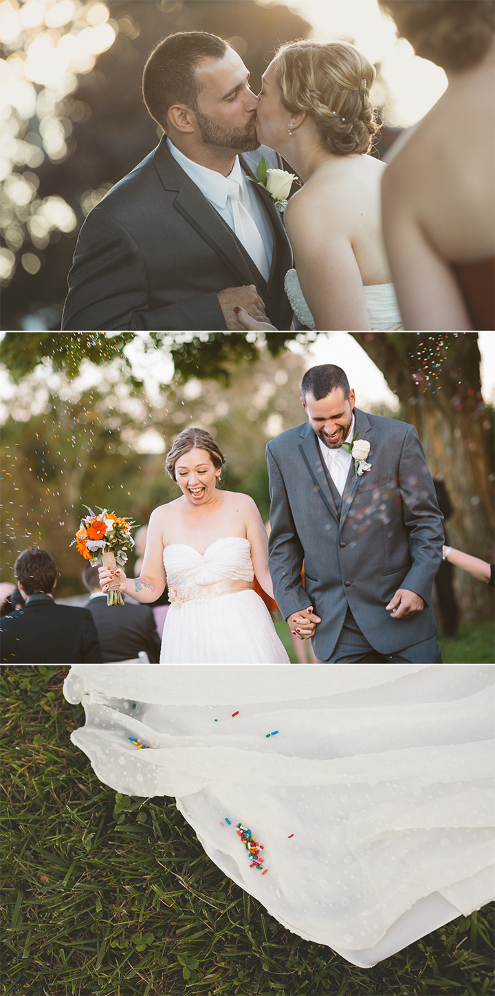 vintage Connecticut farm wedding ceremony photographer Golden Lamb Buttery Brooklyn