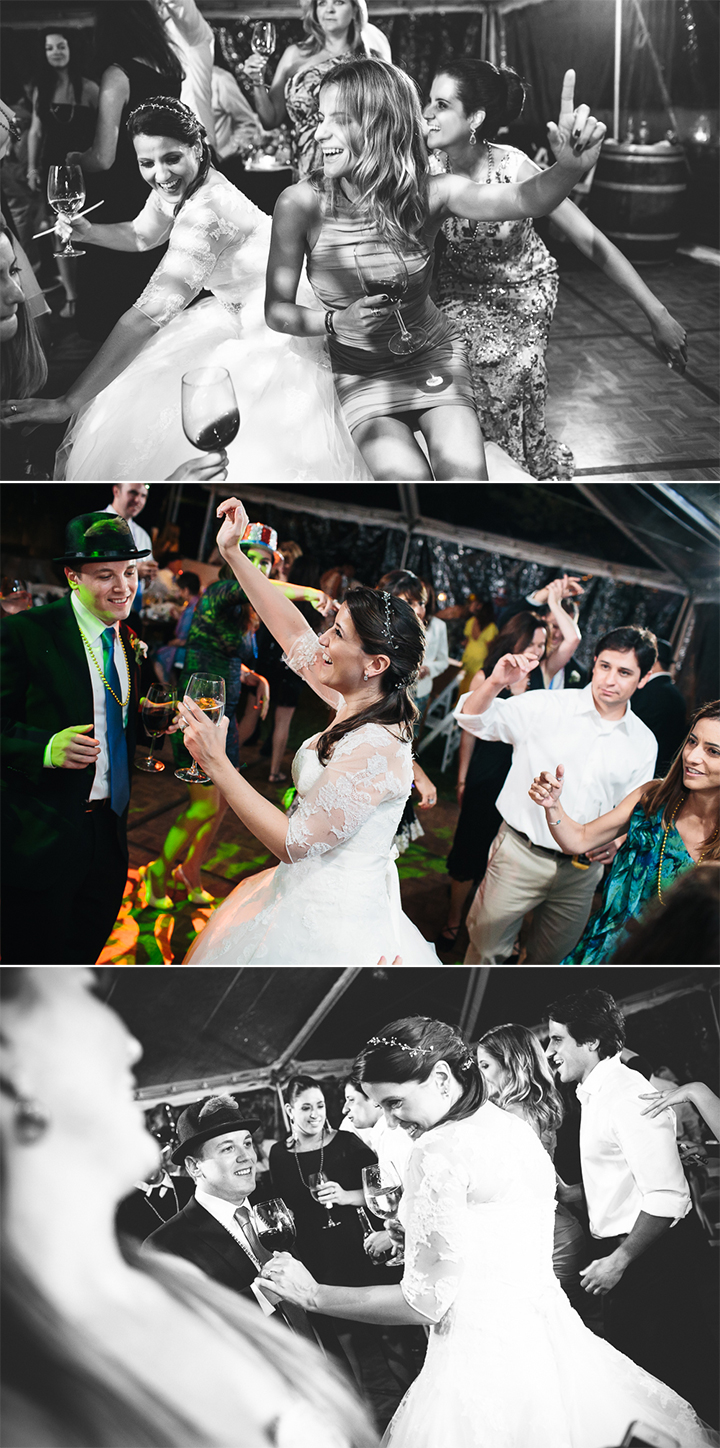 Hopkins Vineyard styled documentary wedding reception photography