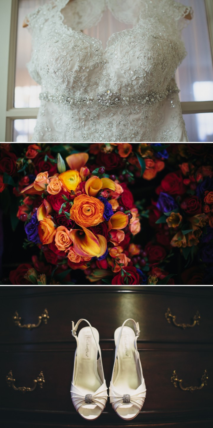modern Connecticut wedding detail pictures