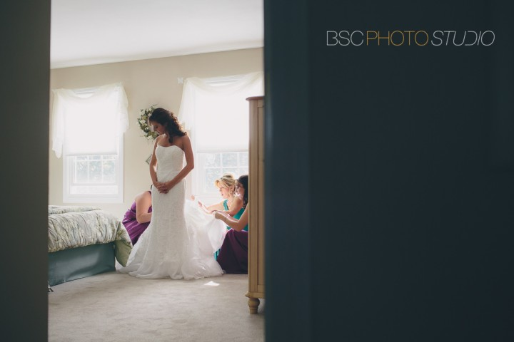 Boutique wedding preparations documentary photography