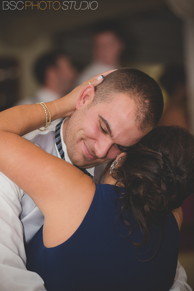 Mother son dance CT wedding photography
