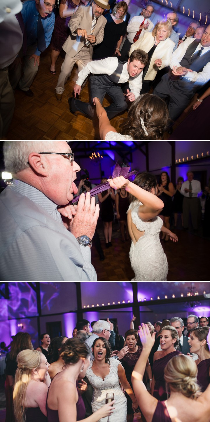 Fun wedding reception documentary photography at Farmington Gardens CT